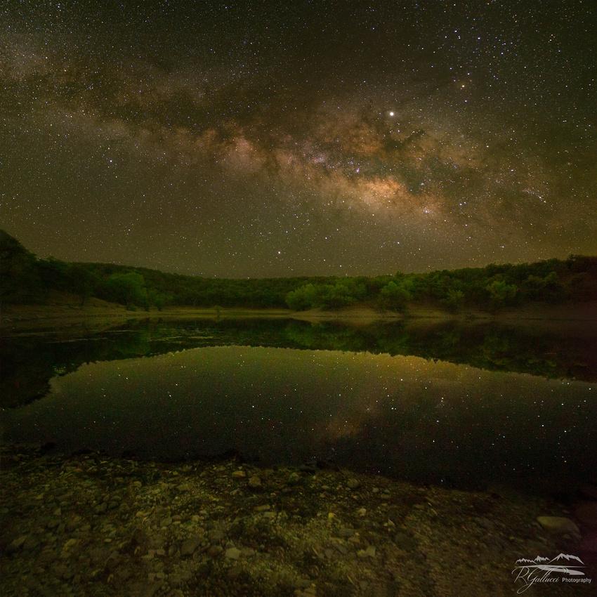 Night at Parker Lake