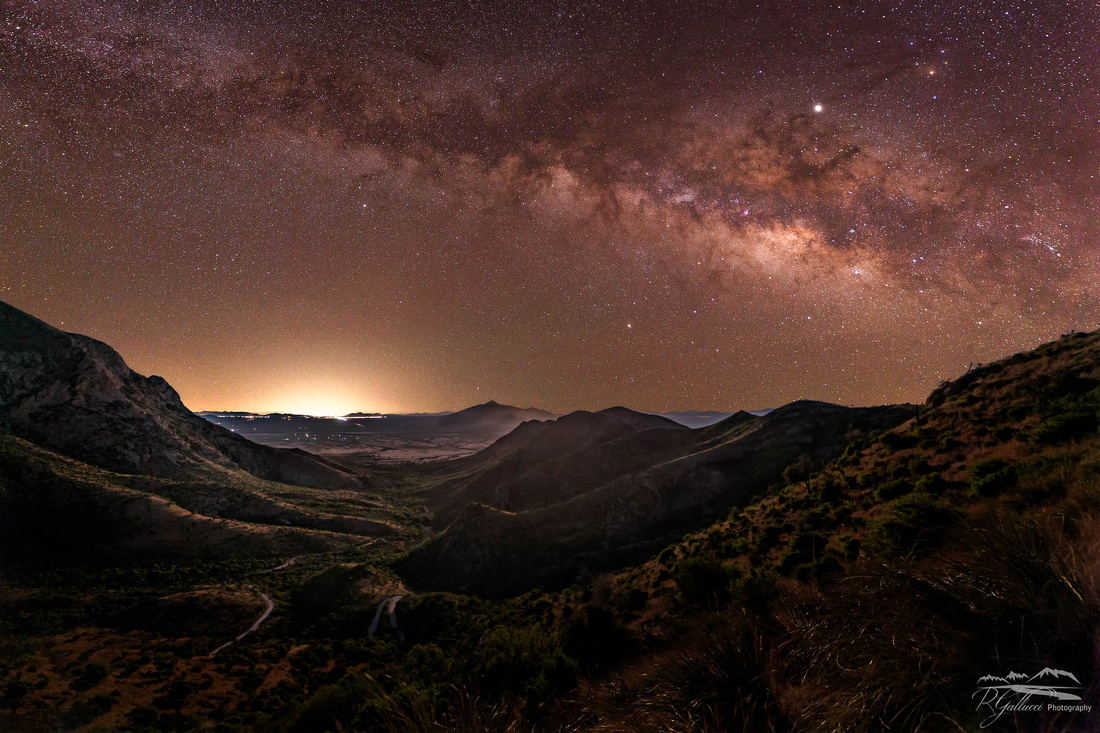 Milky Way over Montezuma Pass