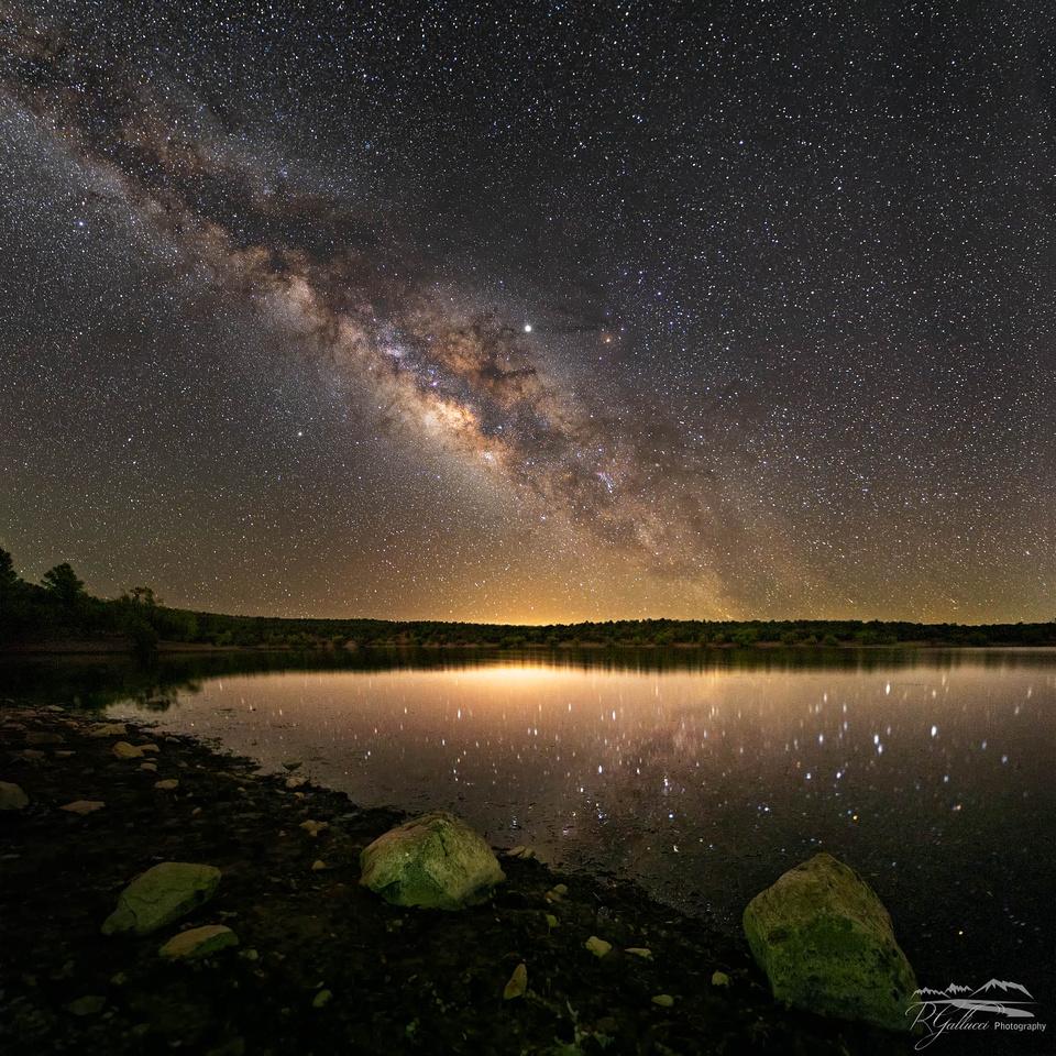 Parker Canyon Lake Milky Way 623