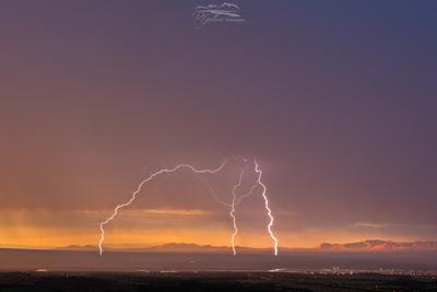 Sunset Storm at Sierra Vista Airport
