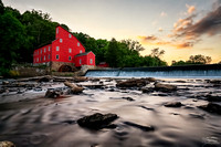 Summer Sunset at the Red Mill