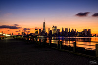 Pre-dawn at Liberty State Park
