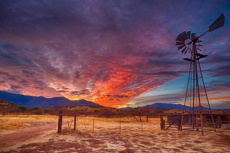 Sunset at Brown Canyon
