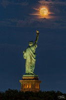 Buck Moon over Liberty